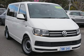 2018 Volkswagen Multivan T6 MY18 TDI340 SWB DSG Comfortline White 7 Speed.