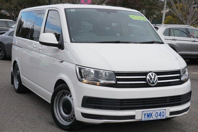 Used Volkswagen Multivan T6 MY18 TDI340 SWB DSG Comfortline Phillip, 2018 Volkswagen Multivan T6 MY18 TDI340 SWB DSG Comfortline White 7 Speed