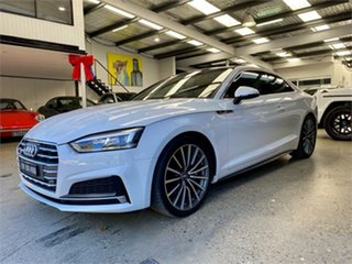 2018 Audi A5 F5 45 TFSI sport White Sports Automatic Dual Clutch Coupe