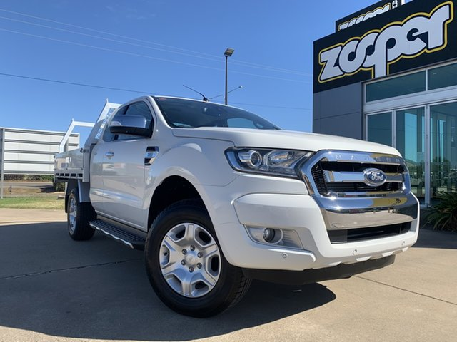 Used Ford Ranger PX MkII XLT Super Cab Townsville, 2017 Ford Ranger PX MkII XLT Super Cab White/310818 6 Speed Sports Automatic Utility