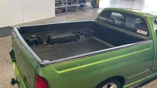 2004 Ford Falcon BA XR8 Ute Super Cab Green 4 Speed Sports Automatic Utility