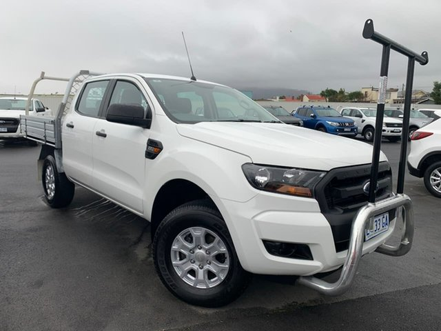 Used Ford Ranger PX MkII XL Hi-Rider Moonah, 2015 Ford Ranger PX MkII XL Hi-Rider White 6 Speed Sports Automatic Utility