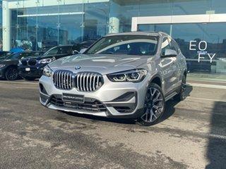 2020 BMW X1 F48 xDrive 25i xLine Glacier Silver 8 Speed Automatic Wagon.