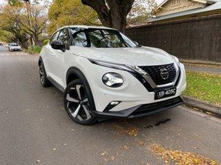 2020 Nissan Juke F16 ST-L DCT 2WD White 7 Speed Sports Automatic Dual Clutch Hatchback.
