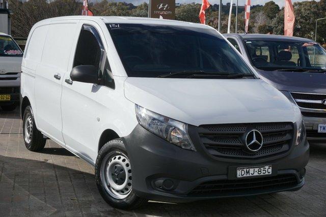 Used Mercedes-Benz Vito 447 111CDI SWB Phillip, 2017 Mercedes-Benz Vito 447 111CDI SWB White 6 Speed Manual Van