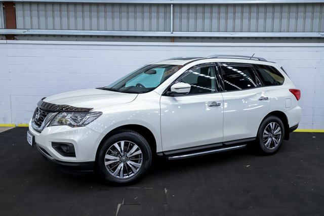 Used Nissan Pathfinder R52 MY17 Series 2 ST-L (4x2) Canning Vale, 2018 Nissan Pathfinder R52 MY17 Series 2 ST-L (4x2) White Continuous Variable Wagon