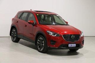 2016 Mazda CX-5 MY15 Akera (4x4) Soul Red 6 Speed Automatic Wagon