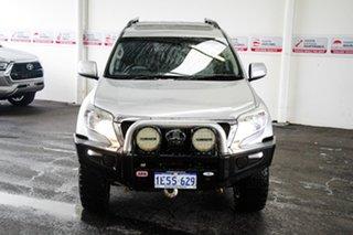 2015 Toyota Landcruiser Prado KDJ150R MY15 Altitude (4x4) Silver Pearl 5 Speed Sequential Auto Wagon.