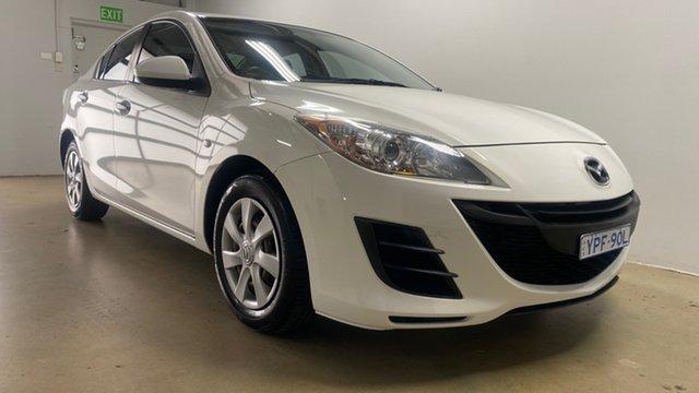 Used Mazda 3 BL 10 Upgrade Neo Phillip, 2011 Mazda 3 BL 10 Upgrade Neo White 6 Speed Manual Sedan