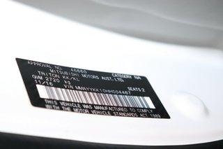 2016 Mitsubishi Triton MQ MY17 GLX 4x2 White 5 speed Automatic Cab Chassis