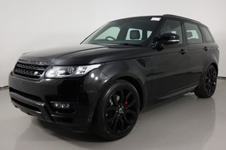 2015 Land Rover Range Rover LW MY15 Sport 3.0 TDV6 SE Black 8 Speed Automatic Wagon.