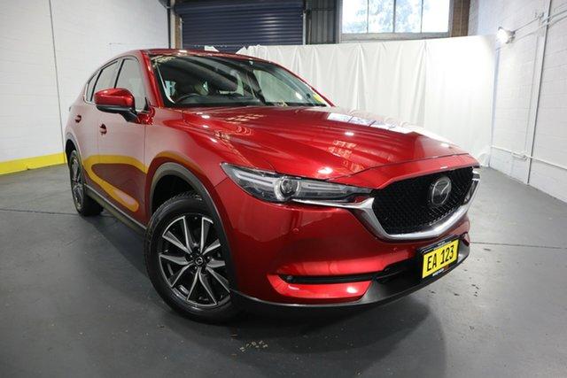 Used Mazda CX-5 KF4WLA Maxx SKYACTIV-Drive i-ACTIV AWD Castle Hill, 2018 Mazda CX-5 KF4WLA Maxx SKYACTIV-Drive i-ACTIV AWD Red 6 Speed Sports Automatic Wagon
