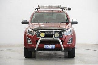 2019 Isuzu D-MAX MY19 LS-T Crew Cab Burgundy 6 Speed Sports Automatic Utility.