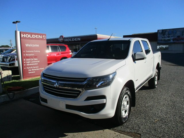 Used Holden Colorado RG MY18 LS Pickup Crew Cab North Rockhampton, 2017 Holden Colorado RG MY18 LS Pickup Crew Cab White 6 Speed Sports Automatic Utility