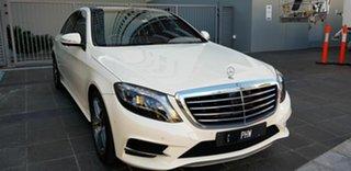 2014 Mercedes-Benz S350 222 MY15 CDI L BlueTEC White 7 Speed Automatic G-Tronic Sedan.