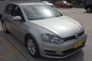 2014 Volkswagen Golf VII MY14 90TSI DSG Comfortline Grey 7 Speed Sports Automatic Dual Clutch.