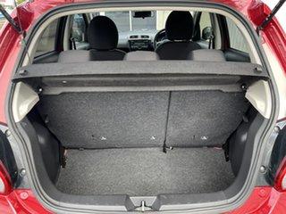 2014 Mitsubishi Mirage LA MY15 LS Red 1 Speed Constant Variable Hatchback