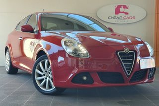 2012 Alfa Romeo Giulietta Series 0 Red 6 Speed Manual Hatchback.