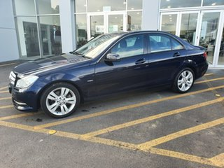 2012 Mercedes-Benz C-Class W204 MY12 C200 BlueEFFICIENCY 7G-Tronic + Blue 7 Speed Sports Automatic