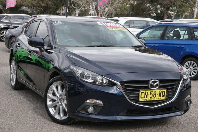 Used Mazda 3 BM5438 SP25 SKYACTIV-Drive Phillip, 2015 Mazda 3 BM5438 SP25 SKYACTIV-Drive Blue 6 Speed Sports Automatic Hatchback