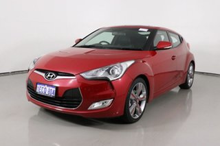 2012 Hyundai Veloster FS MY13 SR Turbo Red 6 Speed Automatic Coupe.