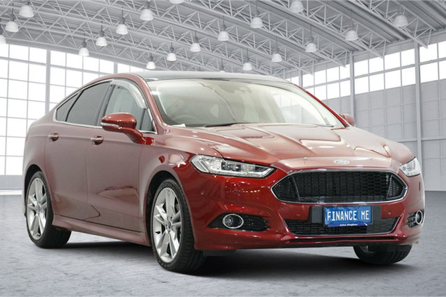 Used Ford Mondeo MD 2018.25MY Titanium Victoria Park, 2018 Ford Mondeo MD 2018.25MY Titanium Ruby Red 6 Speed Sports Automatic Hatchback