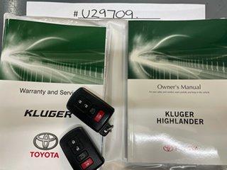 2016 Toyota Kluger GSU55R Grande AWD White 6 Speed Sports Automatic Wagon.