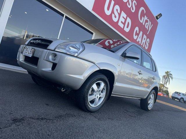 Used Hyundai Tucson JM MY07 City SX Bundaberg, 2008 Hyundai Tucson JM MY07 City SX Silver 5 Speed Manual Wagon