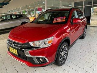 2017 Mitsubishi ASX LS Red Constant Variable Wagon.