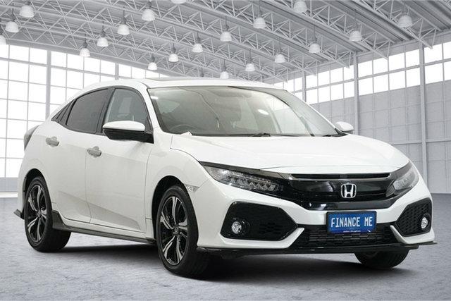 Used Honda Civic 10th Gen MY17 RS Victoria Park, 2017 Honda Civic 10th Gen MY17 RS White 1 Speed Constant Variable Hatchback