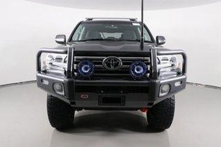 2018 Toyota Landcruiser VDJ200R MY16 GXL (4x4) Graphite 6 Speed Automatic Wagon.