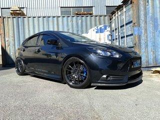 2013 Ford Focus LW MkII ST Black 6 Speed Manual Hatchback.