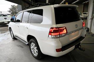 2017 Toyota Landcruiser VDJ200R GX Pearl White 6 Speed Sports Automatic Wagon