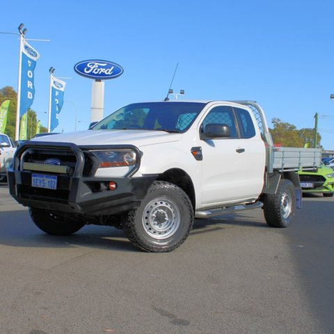 Used Ford Ranger PX MkII XL Midland, 2016 Ford Ranger PX MkII XL White 6 Speed Manual Cab Chassis