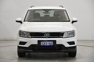 2016 Volkswagen Tiguan 5N MY17 110TSI DSG 2WD Trendline White 6 Speed Sports Automatic Dual Clutch.