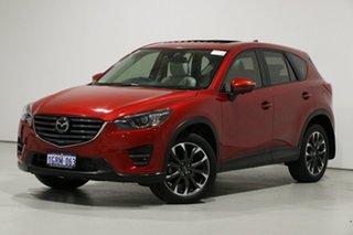 2016 Mazda CX-5 MY15 Akera (4x4) Soul Red 6 Speed Automatic Wagon.
