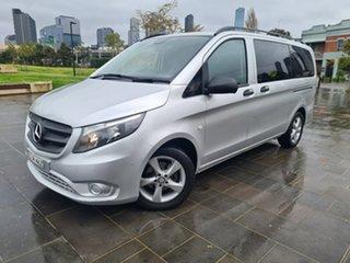 2016 Mercedes-Benz Valente 447 116BlueTEC 7G-Tronic + Silver 7 Speed Sports Automatic Wagon.