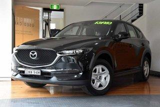2018 Mazda CX-5 KF4WLA Maxx SKYACTIV-Drive i-ACTIV AWD Black 6 Speed Sports Automatic Wagon.