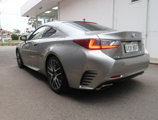 2018 Lexus RC GSC10R RC350 F Sport Silver 8 Speed Sports Automatic Coupe