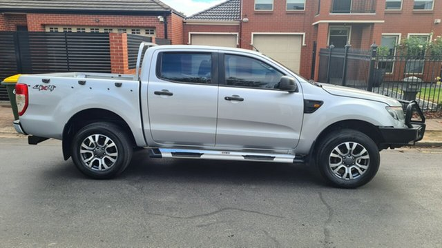 Used Ford Ranger PX XL 2.2 (4x4) Prospect, 2011 Ford Ranger PX XL 2.2 (4x4) Silver 6 Speed Automatic Crew Cab Utility