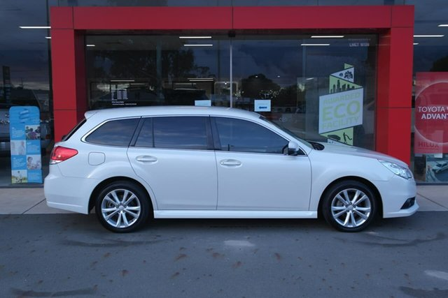 Used Subaru Liberty B5 MY14 2.5i Lineartronic AWD Swan Hill, 2014 Subaru Liberty B5 MY14 2.5i Lineartronic AWD White 6 Speed Constant Variable Wagon