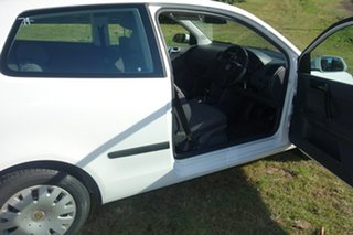 2007 Volkswagen Polo 9N MY2007 Club White 4 Speed Automatic Hatchback