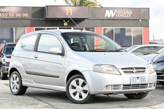 2007 Holden Barina TK MY08 Silver 4 Speed Automatic Hatchback.