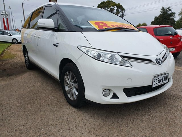 Used Toyota Tarago ACR50R MY13 GLi Morphett Vale, 2015 Toyota Tarago ACR50R MY13 GLi White 7 Speed Constant Variable Wagon