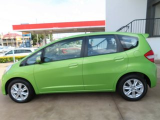 2013 Honda Jazz GE MY12 Vibe Green 5 Speed Automatic Hatchback