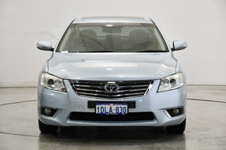 2010 Toyota Aurion GSV40R MY10 Prodigy Ice Blue 6 Speed Sports Automatic Sedan.