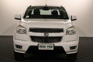 2014 Holden Colorado RG MY14 LT Crew Cab 4x2 White 6 speed Manual Utility.