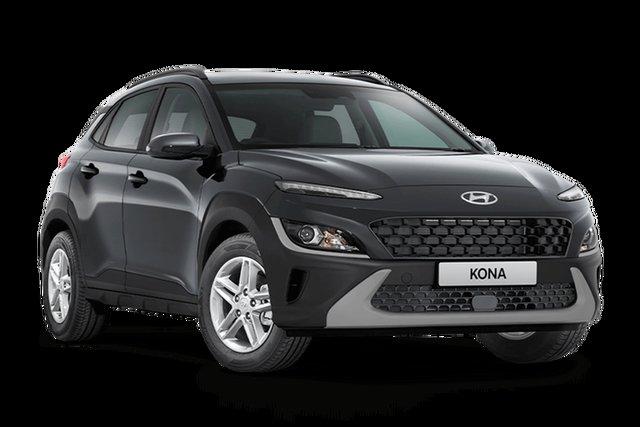 New Hyundai Kona Hamilton, 2021 Hyundai Kona OS.V4 KONA Dark Knight 7 Speed Automatic SUV