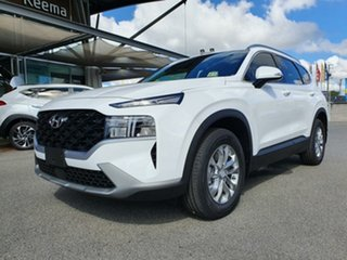 2021 Hyundai Santa Fe Tm.v3 MY21 DCT White Cream 8 Speed Sports Automatic Dual Clutch Wagon.