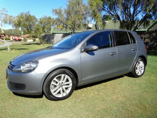 2010 Volkswagen Golf VI MY11 118TSI Comfortline Grey 6 Speed Manual Hatchback.